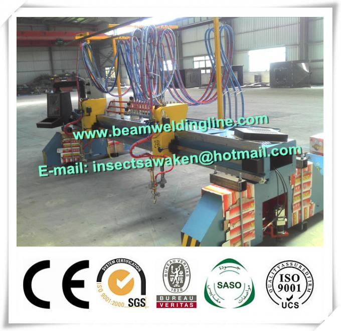 Standard Professional Multy Head Strip CNC Flame Cutting Machine For Metal