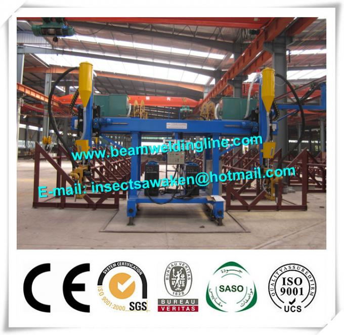 Professional T Type Submerged Arc Welding Machine For H Beam Production Line