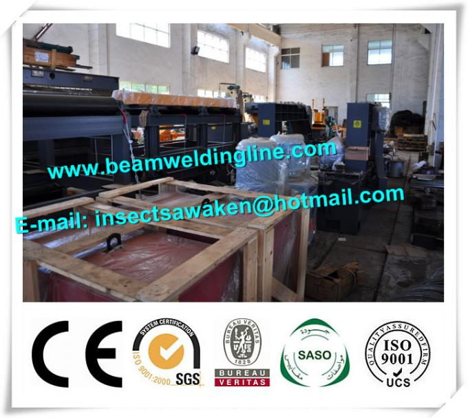 H Beam Straightening Machine , H Beam Welding Line Integrated Machine