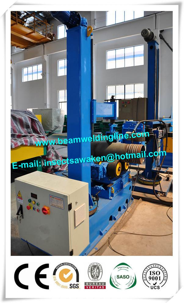 Column And Boom Weld Manipulator Pinch Welding Rotator For Flange / Pipe