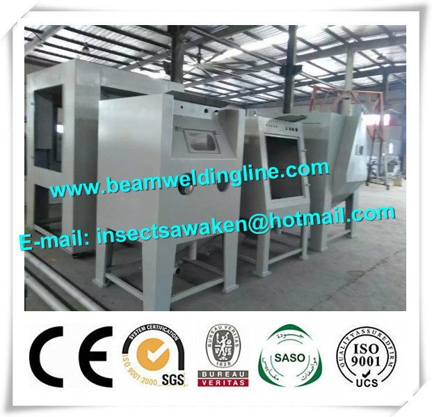 Roller Type Manual H Beam Shot Blasting Machine Sand Blasting Machine