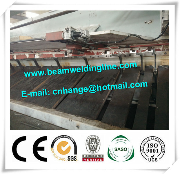 QC11Y-16x8000 Hydraulic Guillotine Shearing Machine For Q235A Steel Sheet