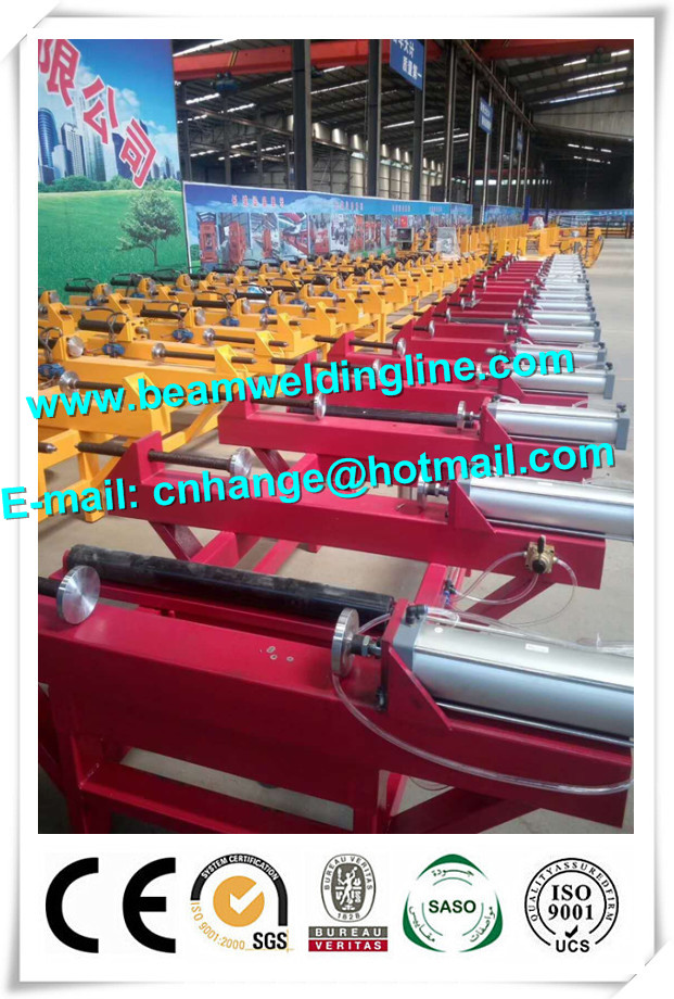 5.5 Motor Box Beam Production Line H Beam Fit Up Machine Machine Assembly
