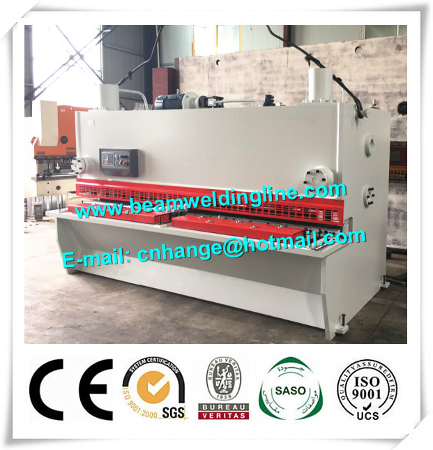 NC Hydraulic Shearing Machine , Guillotine Type Steel Plate Shearing Machine