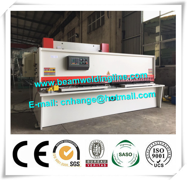10x3200 NC Hydraulic Shearing Machine Swing Type Electric Controller System