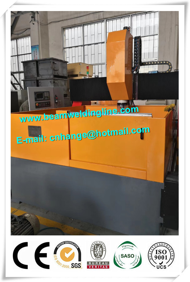 Gantry Milling And Drilling Machine For Steel Plate , CNC Drilling Machine For Sheet