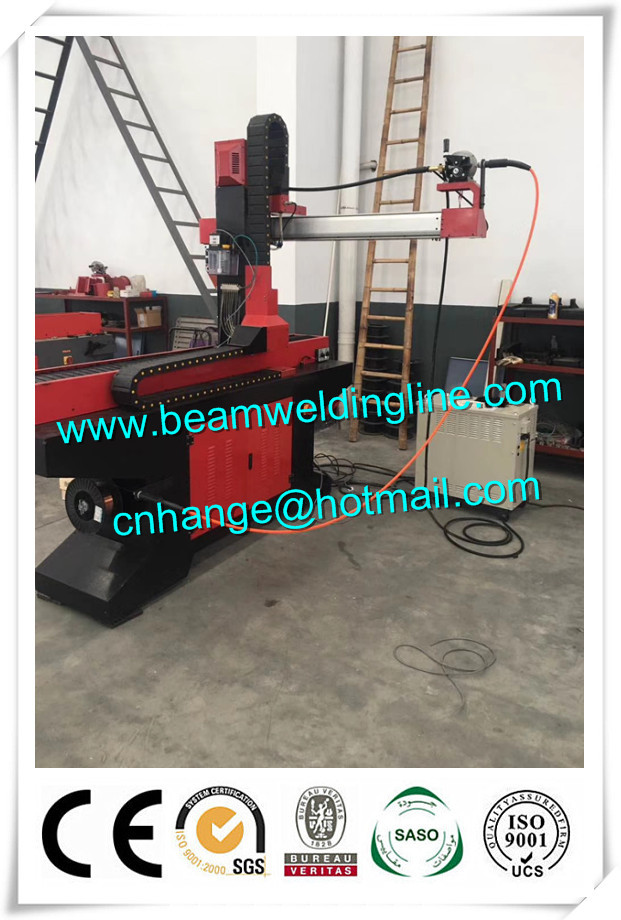 5T Automatic Pipe Welding Positioner , Floor Type Turntable Positioner For Welding