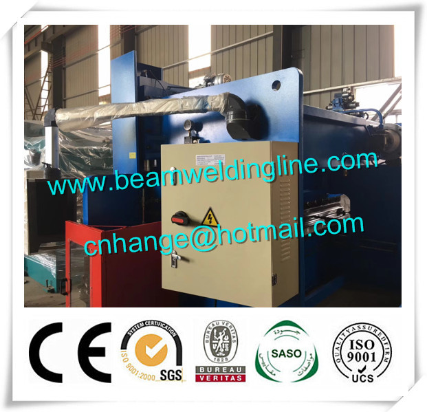 Electro - Hydraulic CNC Press Brake , Automatic Sheet Metal Bending Machine