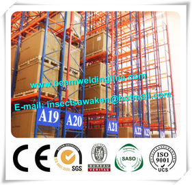 China Steel Building C Z Purlin Roll Forming Machine , Heavy Duty Pallet Racking Pallet supplier