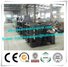 China Roller Type Manual H Beam Shot Blasting Machine Sand Blasting Machine supplier