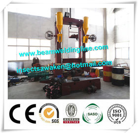 Automated Assembling Straightening H Beam Welding Machine Low Noise