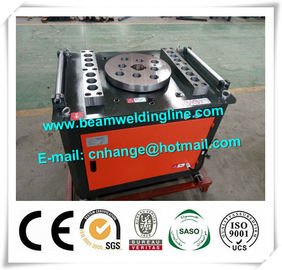 China Round Steel Bar Cutting And Bending Hydraulic Shearing Machine 5.5KW 380V supplier