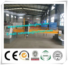 Steel Plate CNC Plasma Cutting Machine , Plasma Metal Cutter Machine