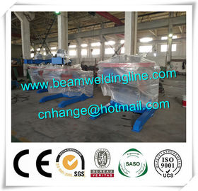 China 5T Automatic Pipe Welding Positioner , Floor Type Turntable Positioner For Welding supplier