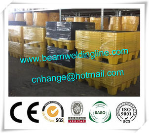 China Flammable Fire Resistant File Cabinet , HDPE Spill Pallet And Spill Deck For Drum supplier