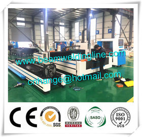 Pipe And Sheet Laser Cutting Machine , CNC Plasma Cutting Machine For Tube And Plate