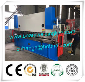 China Electro - Hydraulic CNC Press Brake , Automatic Sheet Metal Bending Machine supplier