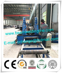 Light Type H Beam Welding Line , Automatic H beam Production Line In China