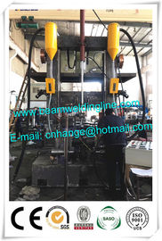 Automatic H Beam Production Line , H Beam Assembling Welding Straightening Machine