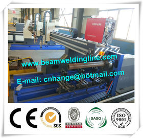 CNC Plasma Cutting Machine For Sheet And Pipe , Pipe Profile Plasma Cutting Machine