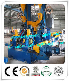 China Light Steel Automatic H Beam Production Line , H Beam Combination Welding Machine supplier