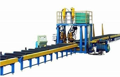 Stable Speed T Type Submerged Arc Welding H Beam Production Line