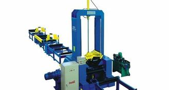 Superb 11000mm/Min Horizontal H Beam Welding Line Machine