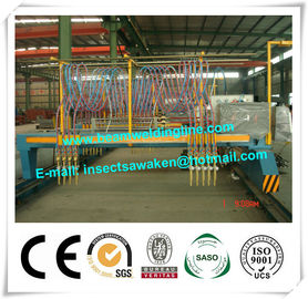 China Standard Professional Multy Head Strip CNC Flame Cutting Machine For Metal supplier