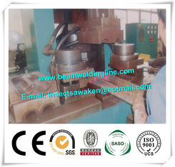 China Small Tube Squeezing Machine Membrane Panel Welding Machine For Boiler Pipe supplier
