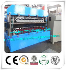 China CE Approvals Double Layer Roll Forming Machine for Metal Deck And Steel Tile supplier