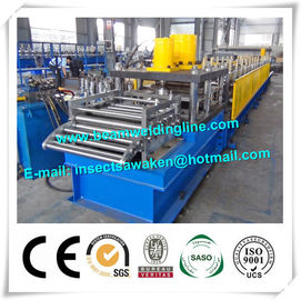 Automatic Column Steel Silo Forming Machine For Highway Guardrail