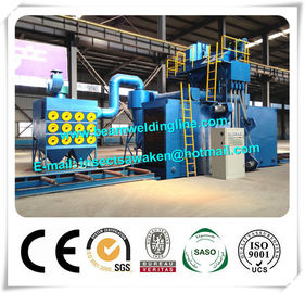 Industrial Automatic Shot Blasting Machine For Steel Struction Component