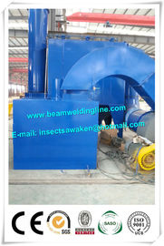 Roller Conveyor Steel Plate Shot Blasting Machine For Removing Rust