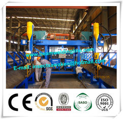 China Professional T Type Submerged Arc Welding Machine For H Beam Production Line supplier