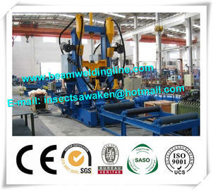 China H Beam Straightening Machine , H Beam Welding Line Integrated Machine supplier
