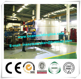 China Automatic Welding Machine Revolving Table / Floor Turntable Positioner supplier