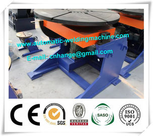 China Standard Automation Weld Positioner , Welding Column And Boom Rotator Roller distributor
