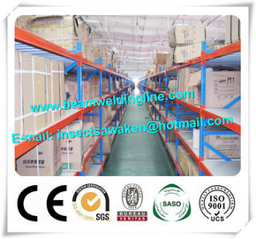China Industry C Z Purlin Roll Forming Machine , Medium Duty Pallet Racking System distributor
