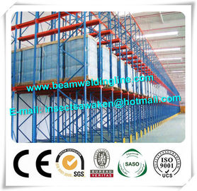 China High Speed C Z Purlin Roll Forming Machine For Storage Shelf Racking System distributor