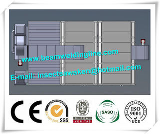 China Stainless Steel Shot Blasting Machine PLC For Paint Drying Room distributor