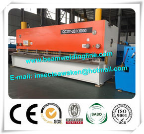China Steel Plate E21S NC Hydraulic Swing Beam Shear Hydraulic Guillotine Shearing Machine distributor