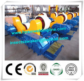 China 80T PU Welding Rotator For Pipe Engineering , Welding Turning Rolls With PU Wheel distributor