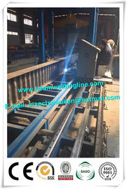 China Corrugated web assembling for H beam production line , H beam corruagated welding machine distributor