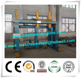 China Star beam Assembling Machine For Fit Up Star Beam 0.4-4.0m/min distributor
