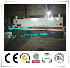 China QC11Y-16x8000 Hydraulic Guillotine Shearing Machine For Q235A Steel Sheet distributor