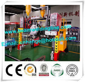 China H Beam Horizontal Welding Machine Mechanical Type Tracking Method Gantry Type Trailer distributor