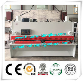 China NC Hydraulic Shearing Machine , Guillotine Type Steel Plate Shearing Machine distributor