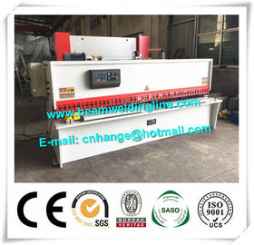 China 10x3200 NC Hydraulic Shearing Machine Swing Type Electric Controller System distributor