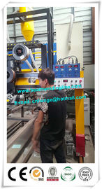 China Semi Trailer Industry Automated Welding Machines , H Beam Welding Line distributor