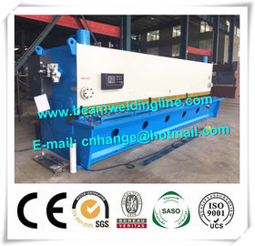 China Metal Plate Hydraulic Guillotine Shearing Machine QC11Y Shearing For Plate Cutting distributor
